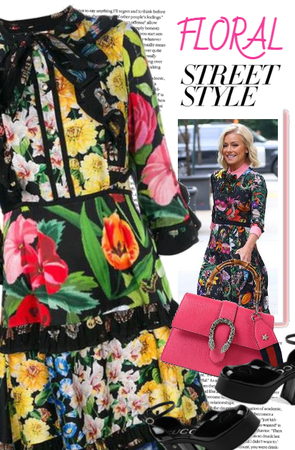 FLORAL STREET STYLE GUCCI