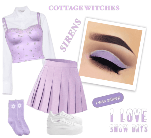 Pastel Purple Outfit