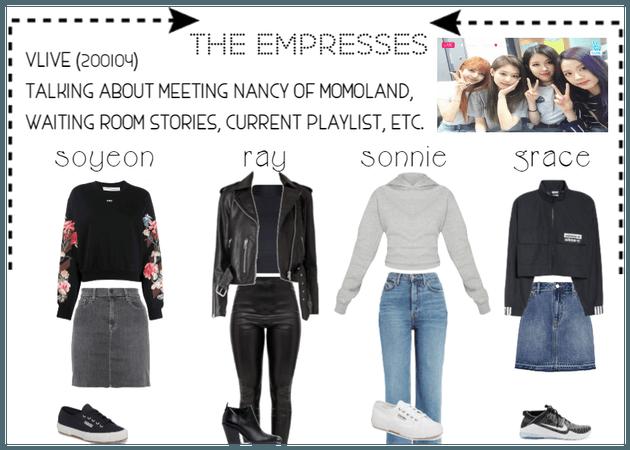 [THE EMPRESSES] V APP: MEETING NANCY OF MOMOLAND