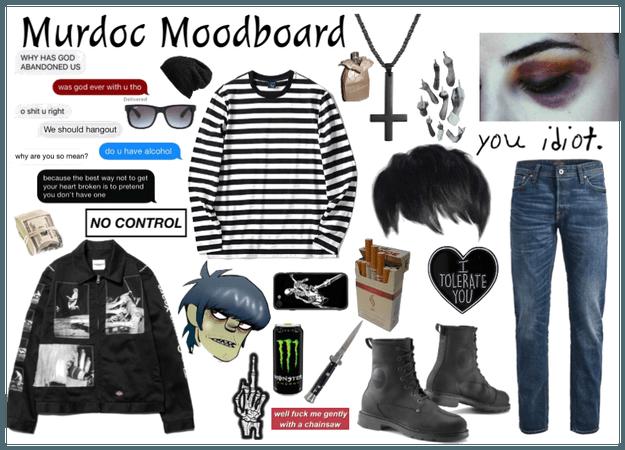 Murdoc Moodboard