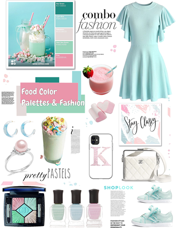 Food color palettes and fashion