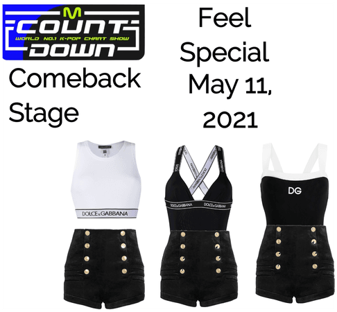 Feel Special Comeback Stage