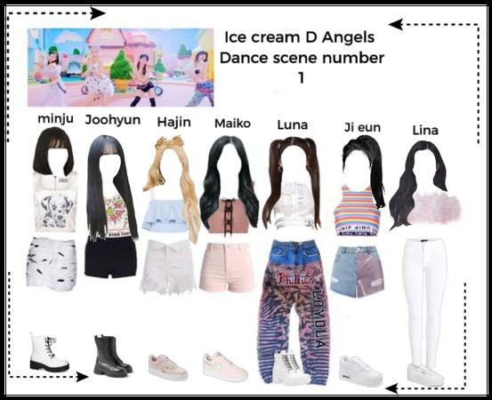 Ice cream D Angels Dance scene number 1