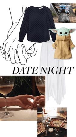 Date night watching The Mandalorian