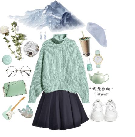 mountainous chic