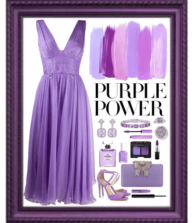 Purple Monochromatic Challenge