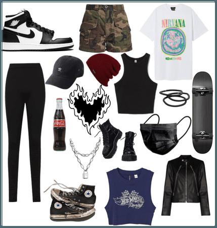 skater girl (?)