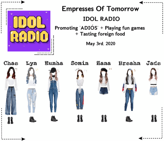 EOT | Idol Radio: 'ADIÓS' Promotions | 200503