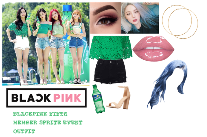BLACKPINK Fifth Member Sprite Event Outfit