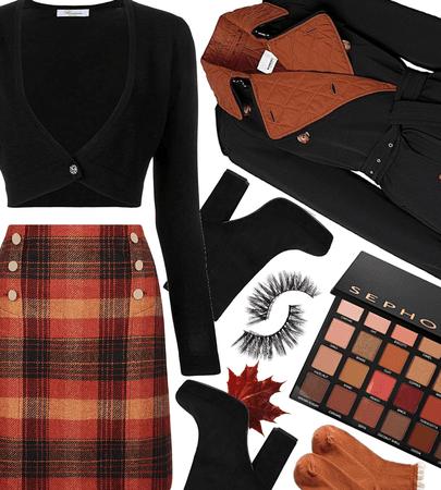 FALL 2020: Plaid Skirt Style