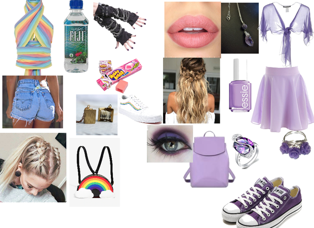 School day with enemy (Enemy:Purple)