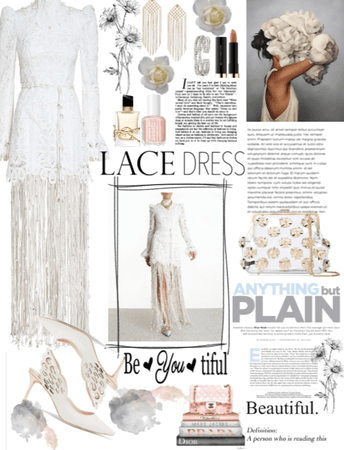 Lace and White