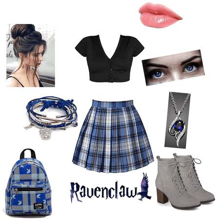 Modern Ravenclaw Girl