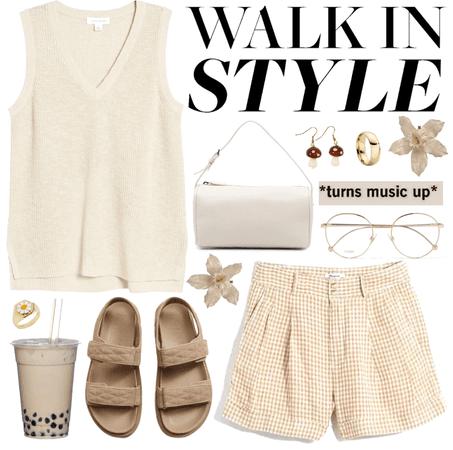 early summer walks 🌞🤍🍄