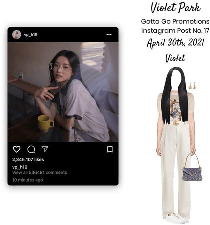 Violet Park | Gotta Go | Instagram Post No. 17