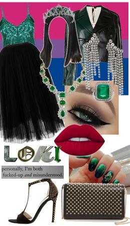 Loki inspired look