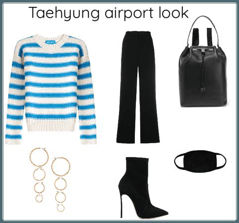 Taehyung airport look