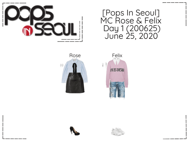 [Pops In Seoul] (Crsuhes) Rose & (SKZ) Felix