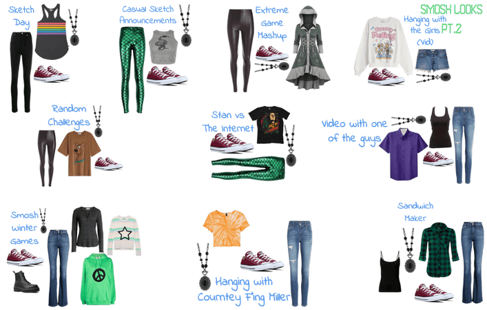 Smosh Outfits part 2