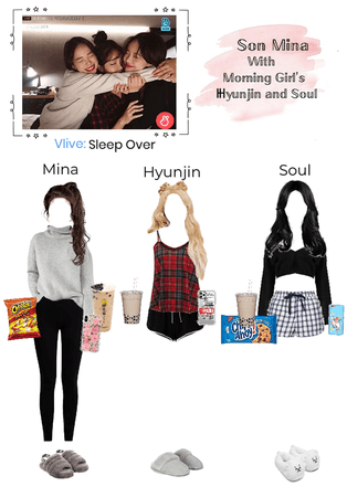Vlive: Sleep Over (with Morning Girl)