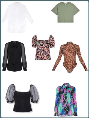 7 estilos universais blusas