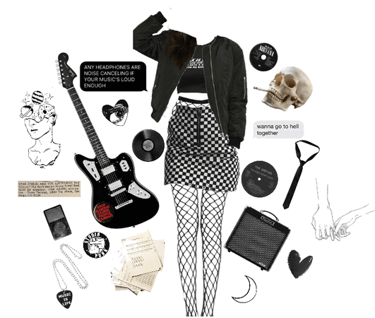 Rock and Roll (Grunge/Edgy) Outfit