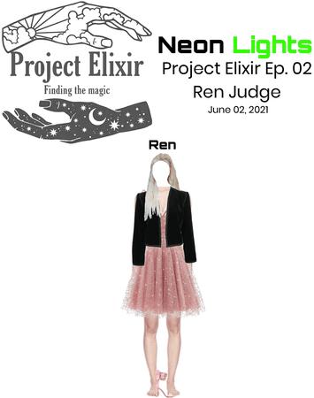 Neon Lights Ren on Project Elixir Ep. 02