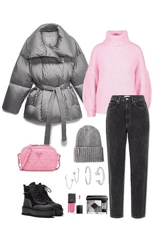 pink vs grey 💕