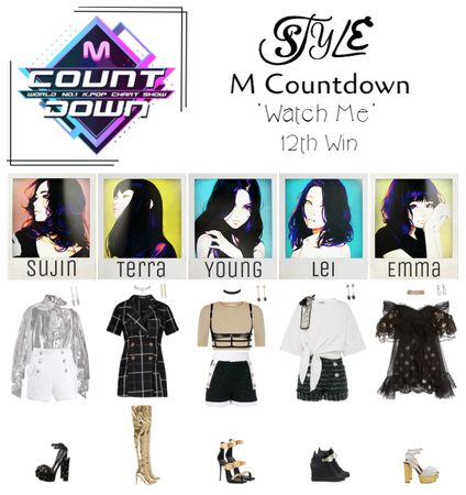 M Countdown 'Watch Me' 12th Win