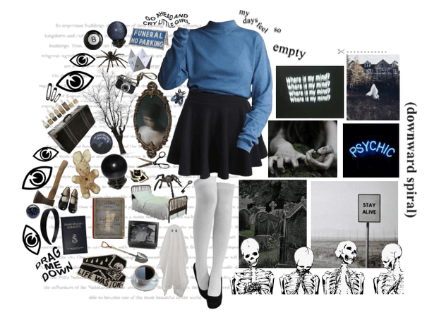 oc: Harley // Dead Girl Walking