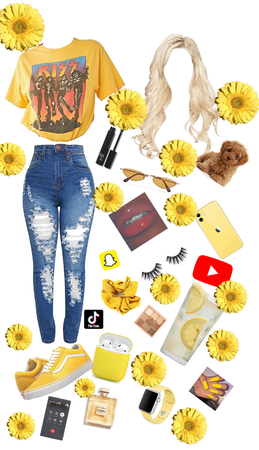 another yellow outfit ideas