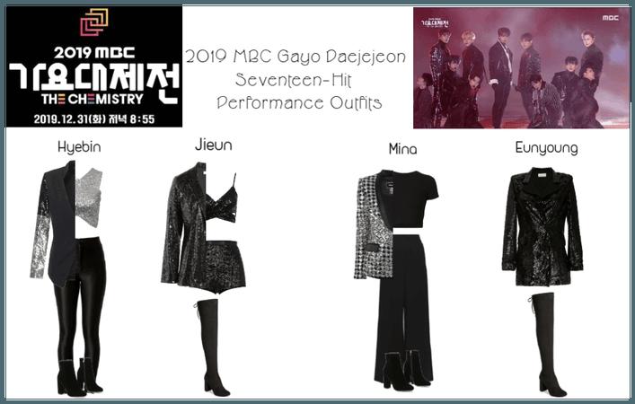 2019 MBC Gayo Daejejeon Seventeen Performance