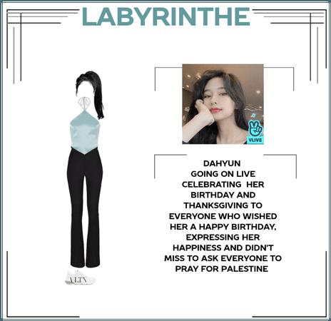 Labyrinthe Dahyun on vlive