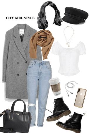 city winter style