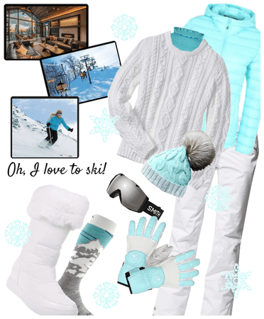 Oh, how I love to ski!