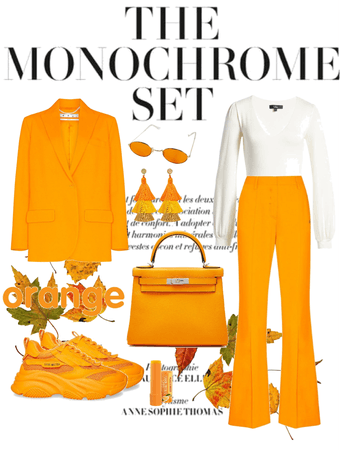 the monochrome set orange