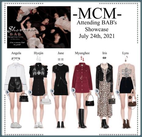 (미랔울움) MIRACULUM - [𝙈𝘾𝙈] Attending BAB's Showcase