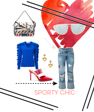 sporty chic