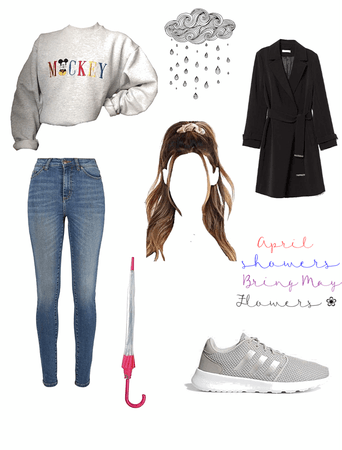 Rainy Day Outfit Style