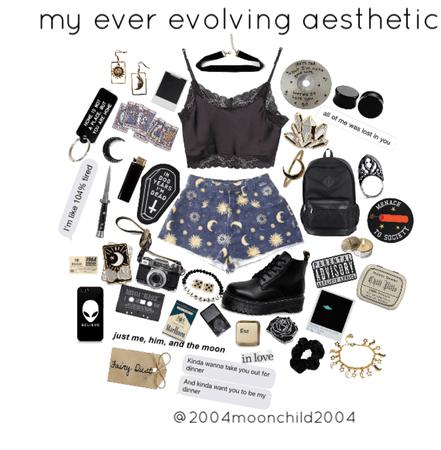 my ever evolving aesthetic