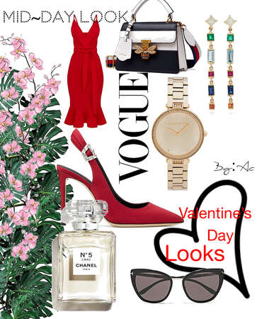 A VOGUE Valentine's Day look