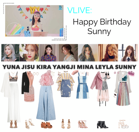 MARIONETTE (마리오네트) VApp Livestream: Happy Birthday Sunny!!