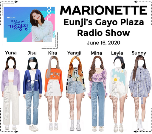 MARIONETTE (마리오네트) Eunji's Gayo Plaza