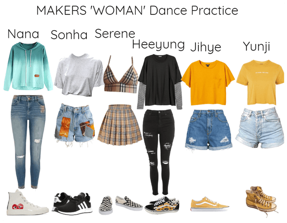 MAKERS 'Woman' Dance Practice