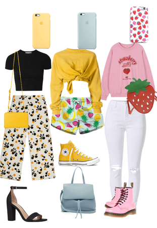 fruit outfits