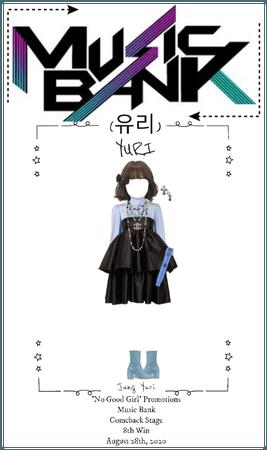 Yuri 'No Good Girl' Promotions Music Bank