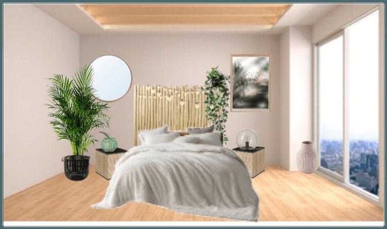 plain bedroom