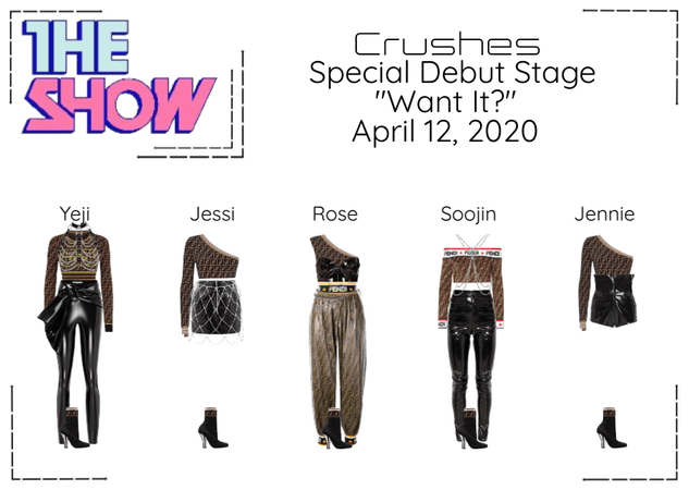 """Crushes (호감) """"Want It?"""" Special Debut Stage"""