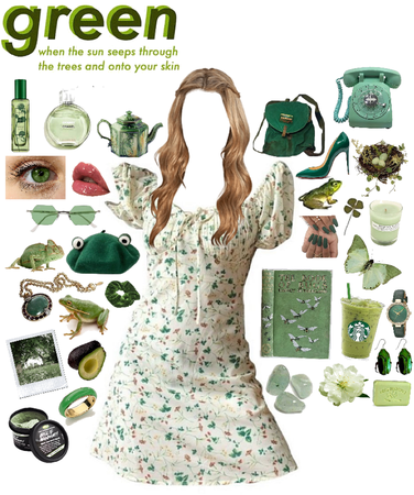 I love green 💚