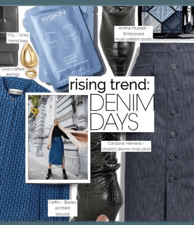Rising Trend: Denim Skirt